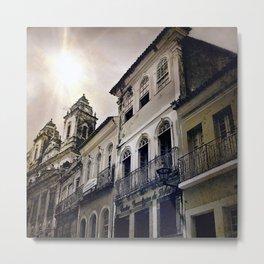 Centro da Bahia Metal Print