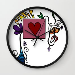 Love Grows, Baby Wall Clock
