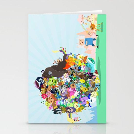 Adventure Time - Land of Ooo Katamari Stationery Cards