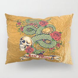 Real Poison Pillow Sham