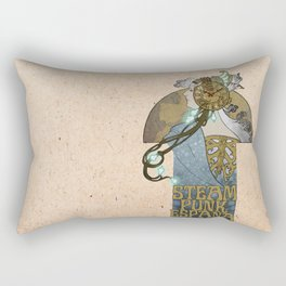 Steampunk Spain Rectangular Pillow