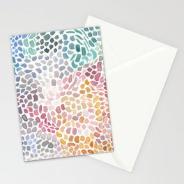 Orchid Mosaic Stationery Cards