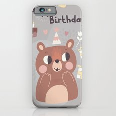 Happy Birthday Bear! Slim Case iPhone 6s