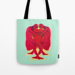 Floating on Love Tote Bag