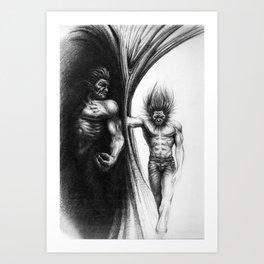 Wolvie Art Print
