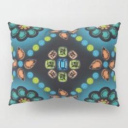 Mon Trésor (Blue) Pillow Sham