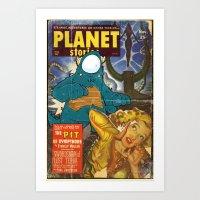 URBNPOP PLANET STORIES Art Print