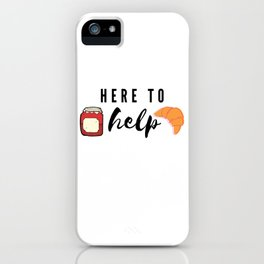 Type Two Enneagram Catch Phrase iPhone Case