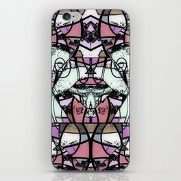 Mirror mirror abstract iPhone Skin