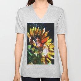 Sunflower Dreams Unisex V-Neck