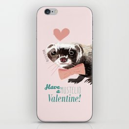 Love : Mustelid Valentine iPhone Skin