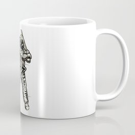 Baseball player on Space Coffee Mug