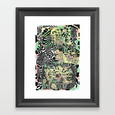 SPRING CYCLE Framed Art Print