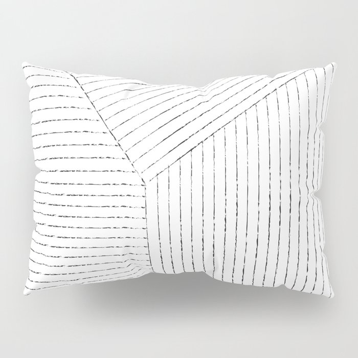 Lines Art Pillow Sham