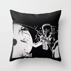 The MAGICIAN and the DRAGON - LIFE CURRENT series... Throw Pillow