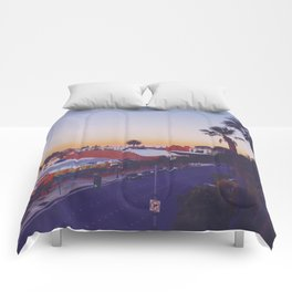 Old Town Twilight Comforters