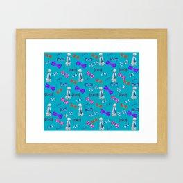 WEIM TIES Framed Art Print