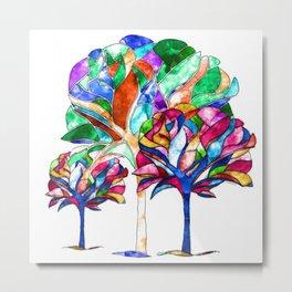 Trees of Hope Metal Print