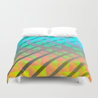 hologram Duvet Covers featuring holo1 by N-E-R-V