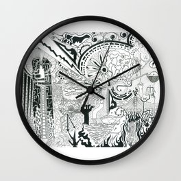 Two Years Later Wall Clock