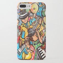Jazzfest Musicians iPhone Case