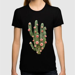 CACTUS AND ROSES T-shirt