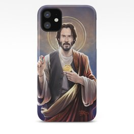 Saint Keanu of Reeves iPhone Case