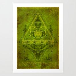 Monkey King (Stoned Ape) Art Print