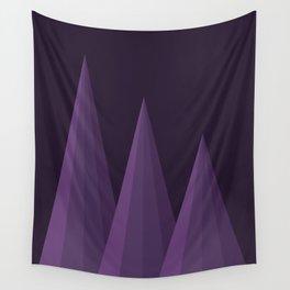 Geometric Purple Wall Tapestry