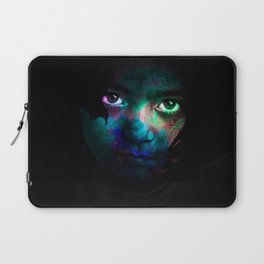 Colorful portrait Laptop Sleeve