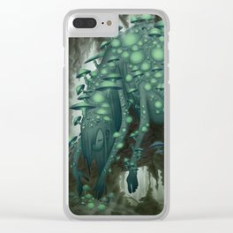 Sporophore Clear iPhone Case