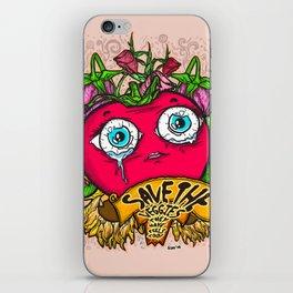 Save the Veggies! - Tomato 2 iPhone Skin