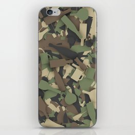 Forest alcohol camouflage iPhone Skin