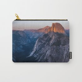 Sunkissed Half Dome at Sunset Carry-All Pouch