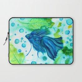 Shimmering Sea Betta Laptop Sleeve