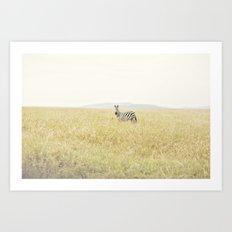 picture perfect::kenya Art Print