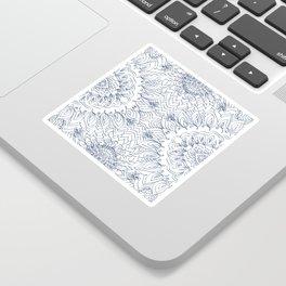 Blueflower Sticker