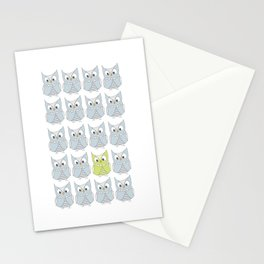Owl be different Stationery Cards