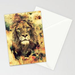 LION -THE KING Stationery Cards