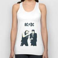 dc Tank Tops featuring AC/DC by Nechifor Ionut