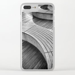 curves Clear iPhone Case