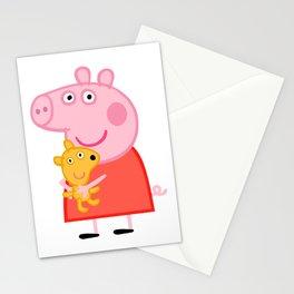 Peppa Pig Teddy Stationery Cards