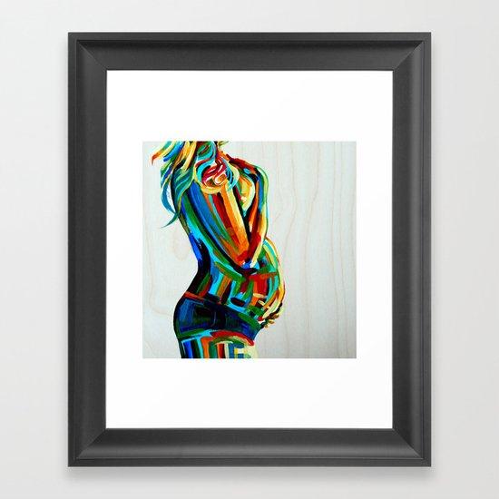 Vibrant Stillness Framed Art Print
