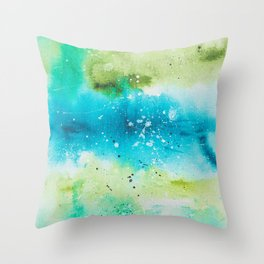 Dream with me in the Sea No 3 Throw Pillow