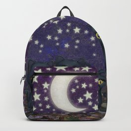 black cats, stars, & moon Backpack