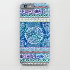 Ocean Stripe iPhone 6 Slim Case
