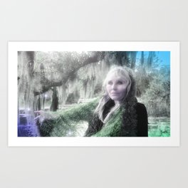 "VAMPLIFIED ""Willow Wisp"" Art Print"