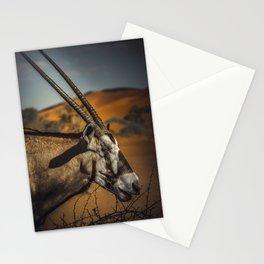 Oryx Antilope Stationery Cards
