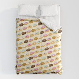 Eating Donuts Comforters