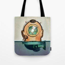 Fish in diving Tote Bag